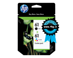 HP 61 2-pack Black/Tri-color Original Ink Cartridges